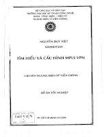 Tìm hiểu và cấu hình MPLS VPN