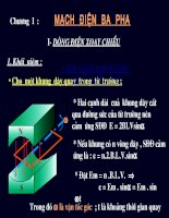 giáo án điện tử công nghệ: cấu tạo động cơ ba pha pdf
