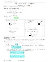 Lý thuyết và bài tập Vật lý 10-Động học chất điểm pdf