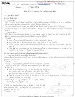 Chương 4: Từ trường-từ trường của các loại dòng điện doc