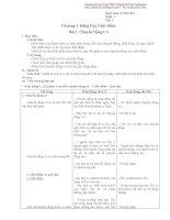 Giáo án vật lý 10-Chương 1: Động học chất điểm ppt