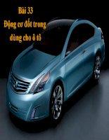giáo án điện tử công nghệ: động cơ đốt trong trong ô tô ppt