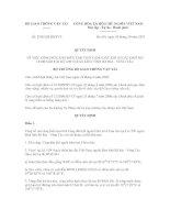 Quyết định số 2240/QĐ-BGTVT ppt
