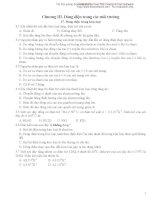 Bài tập trắc nghiệm dòng điện trong kim loại pdf