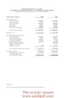 Legislative Audit Division State of Montana Report to the Legislature October 2005 Financial_part3 potx