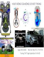 Giáo án điện tử công nghệ: thân máy và nắp máy pptx