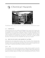 Industrial Safety and Health for Goods and Materials Services - Chapter 9 ppt