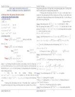 Một số phương pháp giải phương trình và bất phương trình vô tỷ potx