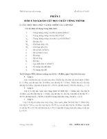 đề tài thiết kế môn học nền và móng (bài tham khảo 3)