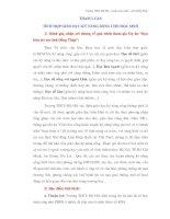 THAM LUẬN TÍCH HỢP GIÁO DỤC KỸ NĂNG SỐNG CHO HỌC SINH pptx