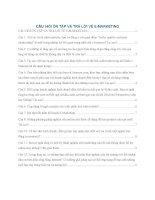 Các câu hỏi ôn tập và trả lời về EMarketing