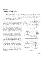 Cơ sở thiết kế máy và chi tiết máy-Phần 3 ppt