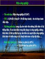 giáo án điện tử công nghệ: Điện công nghiệp_1 docx