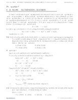 phương pháp sử dụng phương trình ion electron