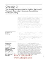 Management and Financial Audit of the Hawaii Tourism Authority's Major Contracts A Report _part3 pptx