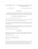 Quyết định số 2342/QĐ-BGTVT docx
