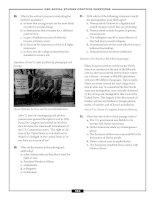 – GED SOCIAL STUDIES PRACTICE QUESTIONS – 29. What is the author's purpose in including Joe pot
