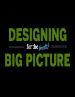 Design for the Multi Big Pictures: Responsive Design guide