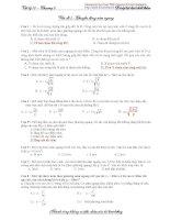 Chương 1: Động học chất điểm pdf