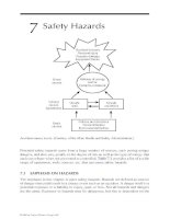 Industrial Safety and Health for Goods and Materials Services - Chapter 7 ppt