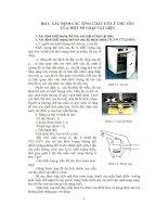 giáo trình hướng dẫn thí nghiệm vật liệu xây dựng