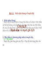 4.1 - Khai niem chung ve mach day pot