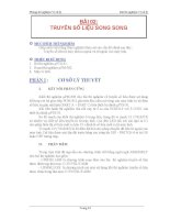 Bài 2: Truyền số liệu song song potx