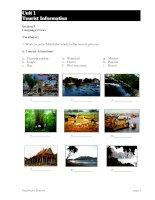 Language Focus of Tourist Information doc