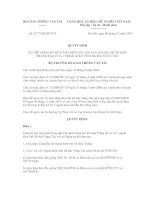 Quyết định số 2577/QĐ-BGTVT pptx