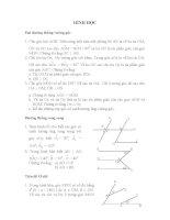 HÌNH HỌC Hai đường thẳng vuông góc potx