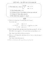 Giới hạn sự liên tục của hàm số pot