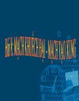 giáo án điện tử công nghệ: mạch khuếch đại pot