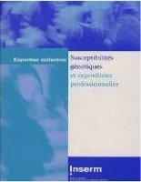 Susceptibilités génétiques et expositions professionnelles - part 1 pot