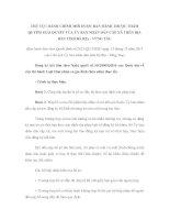 Đăng ký kết hôn theo Nghị quyết số 35/2000/QH10 của Quốc hội về việc thi hành Luật Hôn nhân và gia đình (hôn nhân thực tế) ppt