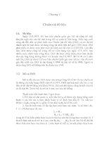 Chương 3 Chuẩn mã dữ liệu pptx