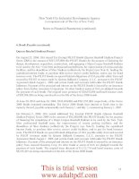 FINANCIAL STATEMENTS AND SUPPLEMENTAL INFORMATION New York City Industrial Development Agency (A Component Unit of The City of New York) Years Ended June 30, 2010 and 2009 With Report of Independent Auditors _part3 doc