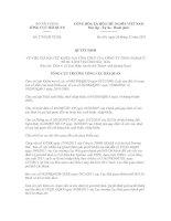 Quyết định số 2743/QĐ-TCHQ docx