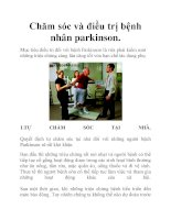 Chăm sóc và điều trị bệnh nhân parkinson. potx
