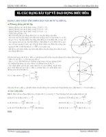 Các dạng bài tập về dao động điều hòa doc