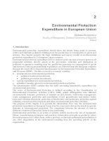 Environmental Management in Practice Part 2 pptx