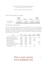 FINANCIAL STATEMENTS AND SUPPLEMENTAL INFORMATION New York City Industrial Development Agency _part4 pptx