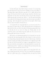 ĐỒ án tốt NGHIỆP đại học NGHIÊN cứu và ĐÁNH GIÁ HIỆU QUẢ TÍCH hợp TRÊN CÔNG NGHỆ FPGA THUẬT TOÁN mật mã CRYPT(D 128)