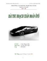 BAI THU HOACH CHAN DOAN OTO pptx