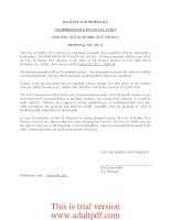 REQUEST FOR PROPOSALS COMPREHENSIVE FINANCIAL AUDIT FOR THE CITY OF HOBBS, NEW MEXICO PROPOSAL NO. 435-11_part1 pptx