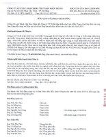 công ty cổ phần xuất nhập khẩu thủy  sản miền trung báo cáo của giám đốc