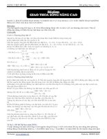 Bài giảng Sóng cơ học: Giao thoa sóng nâng cao potx