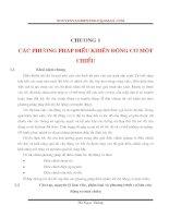Chương 1: Các phương pháp điều khiển động cơ một chiều pptx