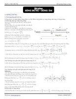 Bài giảng Sóng cơ học: Sóng dừng-sóng âm ppt