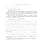 Giáo trình đo đạc lâm nghiệp-Phần 2 docx