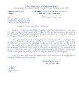 Công văn đề nghị của doanh nghiệp (Mẫu 1) (1) docx